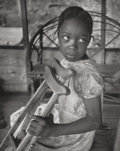 Photographs, W. Eugene Smith (American, 1918-1978). Medical Care in Rural South Carolina (young girl with crutches), 1951. Gelatin si...