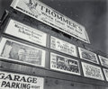 Photographs:Gelatin Silver, Berenice Abbott (American, 1898-1991). Advertisements, EastHouston Street and 2nd Avenue, 1937. Gelatin silver, 1982. 1...