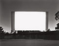 Photographs:Gelatin Silver, Hiroshi Sugimoto (Japanese, b. 1948). Hi-Way 39 Drive-In, Orange, 1993. Gelatin silver. 16-5/8 x 21-1/4 inches (42.2 x 5...