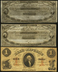 Obsoletes By State:Rhode Island, Newport, RI- New England Commercial Bank $1 18__ and $2 18__ Remainders; Providence, RI- Bank of the Republic $1 Aug. 1,... (Total: 3 notes)