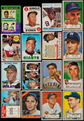Baseball Cards:Lots, 1952-75 Multi-Brand Baseball Collection (300+) With Stars &HoFers....