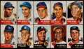 Baseball Cards:Sets, 1953 Topps Baseball Partial Set (158) With Stars, SPs and HoFers. ...