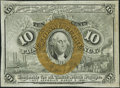 Fractional Currency:Second Issue, Fr. 1245 10¢ Second Issue About New.. ...