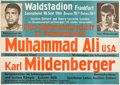 Boxing Cards:General, 1966 Cassius Clay (Muhammad Ali) vs. Karl Mildenberger FightPoster....