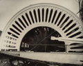 Photographs:Gelatin Silver, Al Deane (American, 20th Century). The Wheel. Gelatin silver. 11-1/8 x 14 inches (28.3 x 35.6 cm). Signed and titled in ...