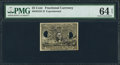 Fractional Currency:Second Issue, Milton #2E25F.3f. Fr. 1283SP 25¢ Second Issue PMG Choice Uncirculated 64 Net.. ...