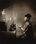 Photographs:Gelatin Silver, Wellington Lee (Chinese/American, 1918-2001). The Prayer, circa 1950s. Gelatin silver. 16-3/4 x 14 inches (42.5 x 35.6 c...