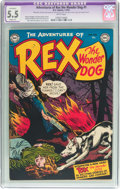Golden Age (1938-1955):Miscellaneous, Adventures of Rex the Wonder Dog #1 (DC, 1952) CGC Apparent FN- 5.5 White pages....