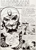 Original Comic Art:Splash Pages, Al Dellinges Flash #95 Story Splash Page 1 RecreationHawkman Original Art (undated)....