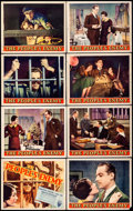 """Movie Posters:Crime, The People's Enemy (RKO, 1935). Lobby Card Set of 8 (11"""" X 14""""). Crime.. ... (Total: 8 Items)"""