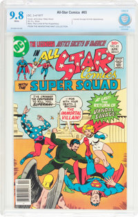All Star Comics #65 (DC, 1977) CBCS NM/MT 9.8 White pages