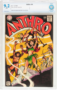 Anthro #4 (DC, 1969) CBCS NM- 9.2 White pages