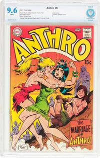 Anthro #6 (DC, 1969) CBCS NM+ 9.6 White pages