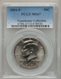 Kennedy Half Dollars, 2004-P 50C MS67 PCGS. Ex: Vennekotter Collection. PCGS Population:(60/4). NGC Census: (89/5). ...