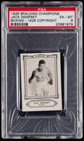 Boxing Cards:General, 1926 Sports Co. of America Jack Dempsey PSA EX-MT 6....