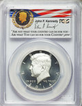 Kennedy Half Dollars, 2014-S 50C Enhanced Silver, Kennedy 50th Anniversary Set, FirstStrike - Denver, MS70 Prooflike PCGS. PCGS Population: (299...