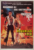 """Boxing Collectibles:Memorabilia, 1979 """"Freedom Road"""" Movie Poster (Foreign)...."""