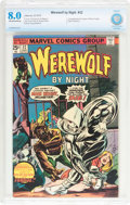 Bronze Age (1970-1979):Horror, Werewolf by Night #32 (Marvel, 1975) CBCS VF 8.0 Off-white to whitepages....
