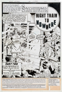 Dick Ayers and Romeo Tanghal Weird Western Tales #68 Complete 17-Page Story Scalphunter Original Art (DC, 1980).... (Tot...