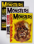Magazines:Horror, Famous Monsters of Filmland #12-16 and 18 Group (Warren, 1961-62) Condition: Average FN.... (Total: 6 Items)