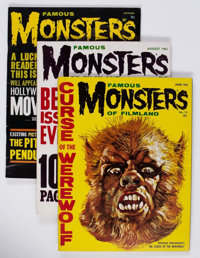 Famous Monsters of Filmland #12-16 and 18 Group (Warren, 1961-62) Condition: Average FN.... (Total: 6 Items)