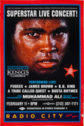 """Boxing Collectibles:Memorabilia, 1996 """"When We Were Kings"""" Live Concert Poster. ..."""