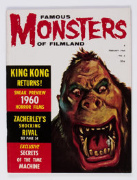 Famous Monsters of Filmland #6 (Warren, 1960) Condition: FN+