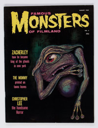 Famous Monsters of Filmland #4 (Warren, 1959) Condition: FN/VF