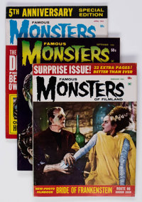 Famous Monsters of Filmland Group of 16 (Warren, 1963-67) Condition: Average FN-.... (Total: 16 Comic Books)