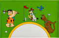 Animation Art:Concept Art, The Flintstones/Scooby-Doo Consumer Products Cel (Hanna-Barbera,1983)....