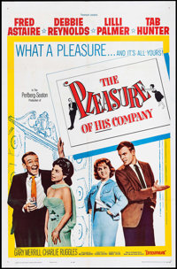 "The Pleasure of His Company & Other Lot (Paramount, 1961). One Sheets (2) (27"" X 41"") & Half S..."