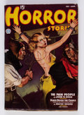 Pulps:Horror, Horror Stories - February 1937 (Popular) Condition: FN+....