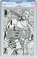 Modern Age (1980-Present):Horror, Walking Dead #1 Wizard World New Orleans Sketch Edition (Image, 2015) CGC NM/MT 9.8 White pages....