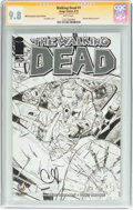 Modern Age (1980-Present):Horror, Walking Dead #1 Wizard World Philadelphia Sketch Edition -Signature Series (Image, 2015) CGC NM/MT 9.8 White pages....