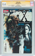 Modern Age (1980-Present):Science Fiction, X-Files #26 Signature Series (IDW Publishing, 1997) CGC NM 9.4White pages....