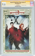 Modern Age (1980-Present):Miscellaneous, Hundred Penny Press: X-Files Classics #1 Signature Series - (IDW Publishing, 2013) CGC NM+ 9.6 White pages....