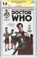 Modern Age (1980-Present):Science Fiction, Doctor Who: The Eleventh Doctor #13 Signature Series (Titan Comics,2015) CGC NM/MT 9.8 White pages....