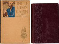 Uncle Tom's Cabin Early Edition and Gulliver's Travels Book Group of 2 (1880-1897).... (Total: 2 Items)