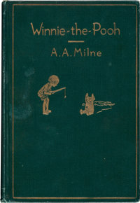 Winnie-the-Pooh First Edition and Related Books Group of 3 (1926-43)