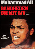 """Boxing Cards:General, 1977 """"I am the Greatest"""" Movie Poster (Scandinavia)...."""