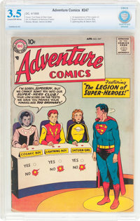 Adventure Comics #247 (DC, 1958) CBCS VG- 3.5 Cream to off-white pages