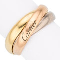 Estate Jewelry:Rings, Gold Ring, Cartier . . ...