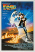 "Movie Posters:Science Fiction, Back to the Future (UlP, 1985). Australian One Sheet (27"" X 40"").Science Fiction.. ..."