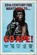 "Movie Posters:Science Fiction, Go Ape! (20th Century Fox, 1974). One Sheet (27"" X 41""). Science Fiction.. ..."