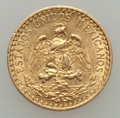Mexico, Mexico: Republic gold 2 Pesos 1919-M AU,...