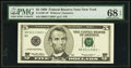 Small Size:Federal Reserve Notes, Fr. 1987-B* $5 1999 Federal Reserve Star Note. PMG Superb Gem Unc 68 EPQ.. ...