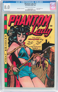 Phantom Lady #17 (Fox Features Syndicate, 1948) CGC VF 8.0 Cream to off-white pages