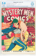 Golden Age (1938-1955):Superhero, Mystery Men Comics #3 (Fox, 1939) CBCS Restored VG/FN 5.0 Slight to Moderate (A) Off-white to white pages....