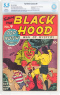 Golden Age (1938-1955):Superhero, Top-Notch Comics #9 (MLJ, 1940) CBCS Apparent FN- 5.5 Moderate to Extensive (A) Cream to off-white pages....