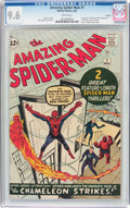 Silver Age (1956-1969):Superhero, The Amazing Spider-Man #1 Curator Pedigree (Marvel, 1963) CGC NM+9.6 White pages....